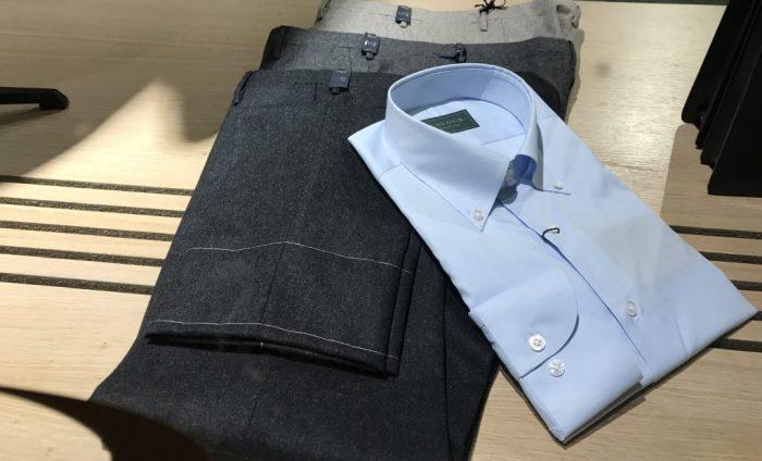 9e648cdc Flanellsbukser med rå lengde, og Cavours egne skjorter