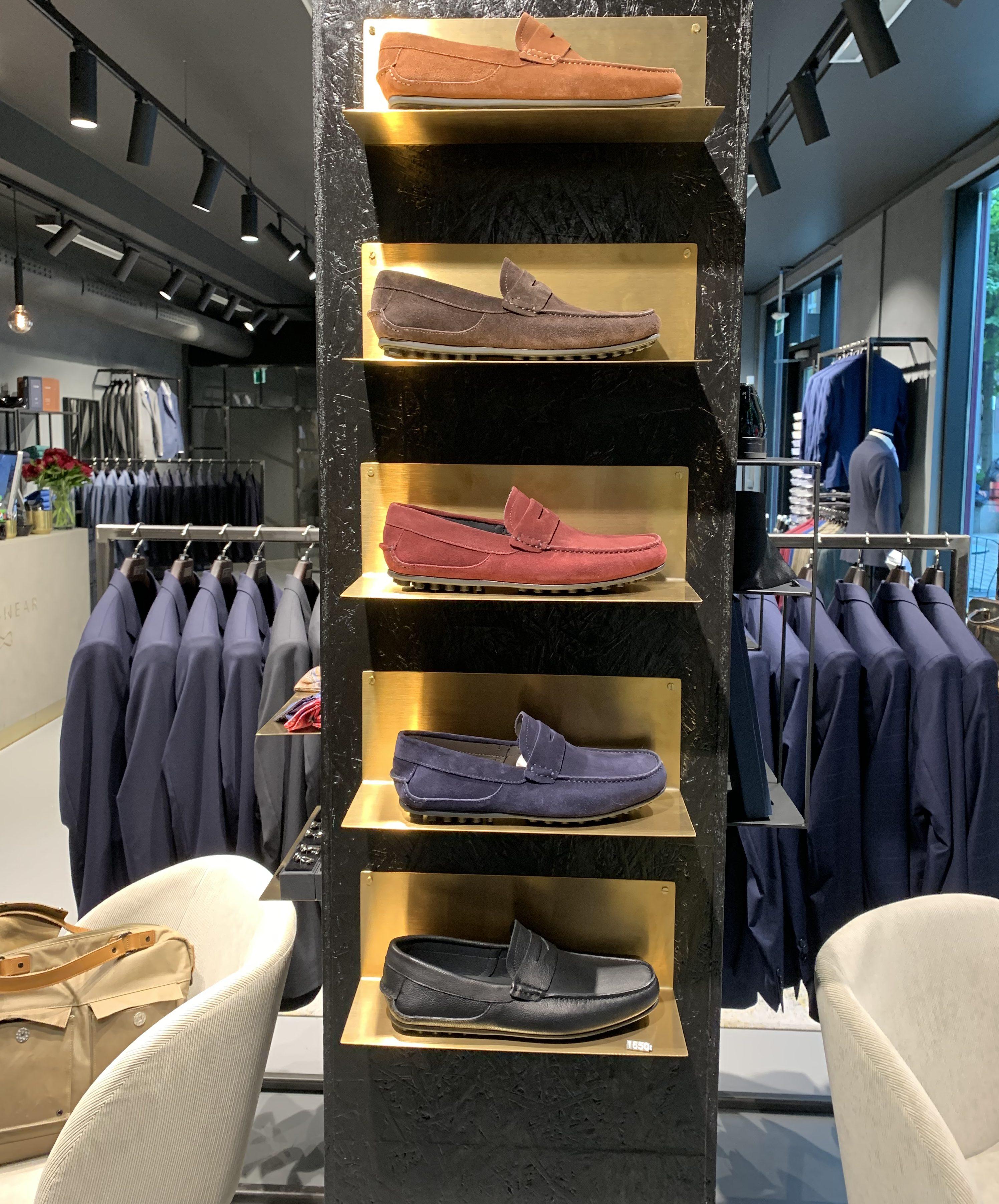 9751267d Et tillegg til Menswears utvalg av sko denne sesongen er en ny serie  loafers i flere farger