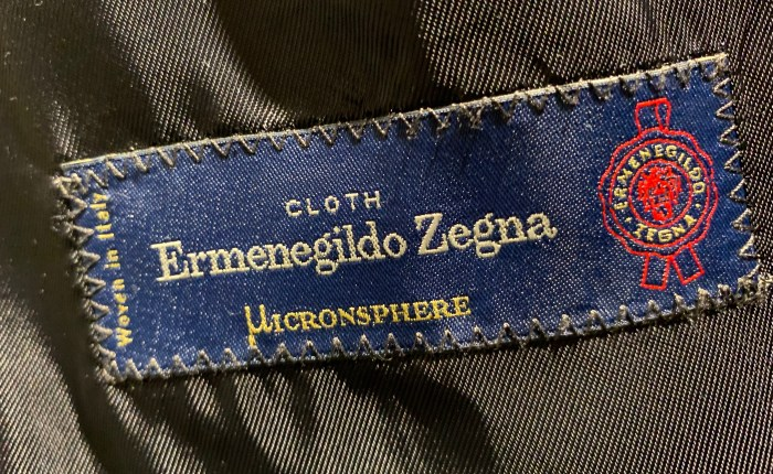 Dress i Micronsphere fra Zegna