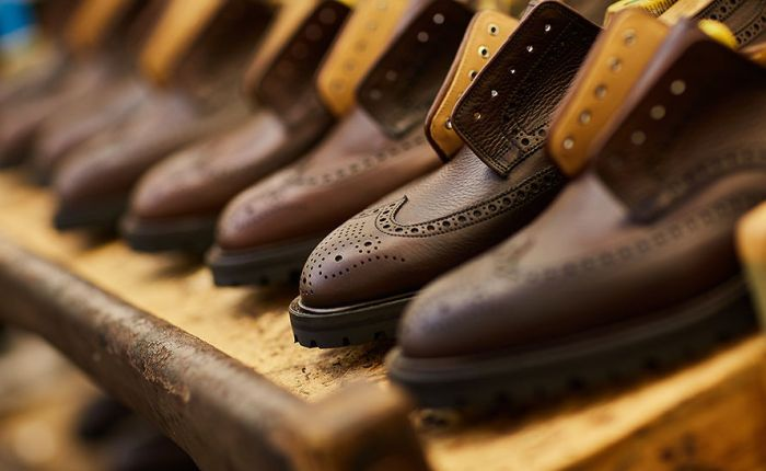 Crockett & Jones X Tärnsjö Garveri i Care of Carls jumbileumskolleksjon