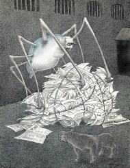 Walter Schnackenberg - Spinne mit Maulkorb (1958)