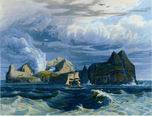 Sulphur Island, published by John Murray, London - 1828