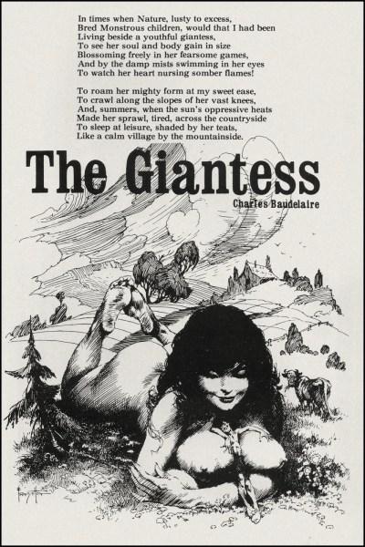 Frank Frazetta, The Giantess