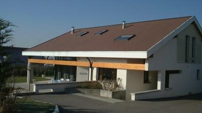 maison Brun à Annecy-le-Vieux - architecte Bernard Lemaire