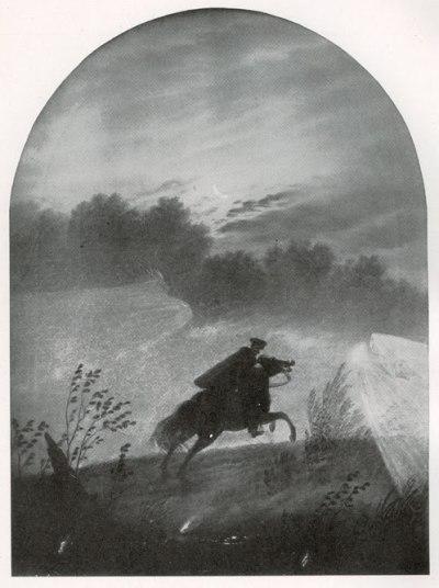 Carl Gustav Carus (1789-1869): 'Der Erlkönig'