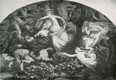 Erlkoenig, Schwind  - Otto Weigmann, 1906