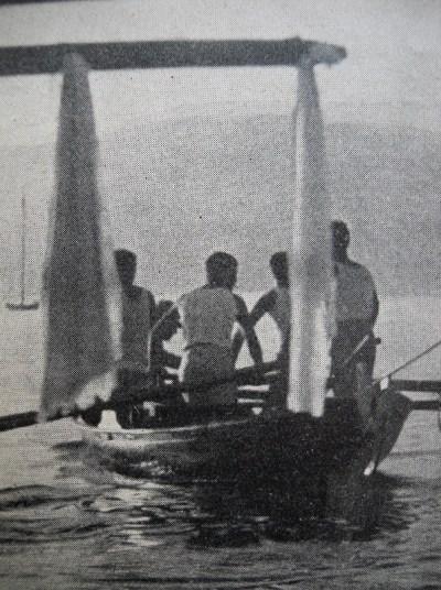bateaux de soutien