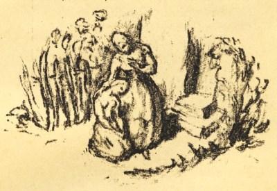 Lénore - illustration de Franz Kolbrand - 1920
