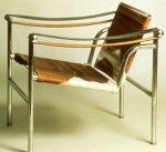 Fauteuil à dossier B301 de Charlotte Perriand, Le Corbusier, Edouard Jeanneret - années 1928