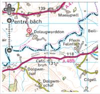 Dolau-Gwyrddon (Pays de Galles)