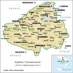 Francoprovencal-Arpitan-Map