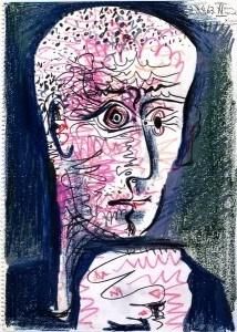 Michel Leiris par Picasso