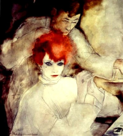 Jeanne Mammen (Allemagne, 1890-1970) - THe Redhead - 1930