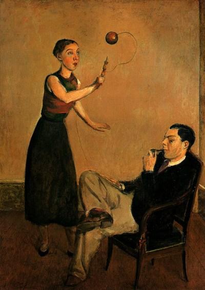 Pierre et Betty Leyris par Balthus - 1932