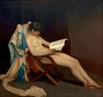 Theodore Roussel_- Jeune fille lisant - 1886