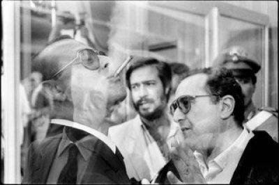 Franco Zecchin - Caltanissetta, 1984 - Procès Chinnici, le mafieux Vincenzo Rabito dans une attitude de défi