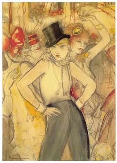 Jeanne Mammen - la Garçonne - 1927