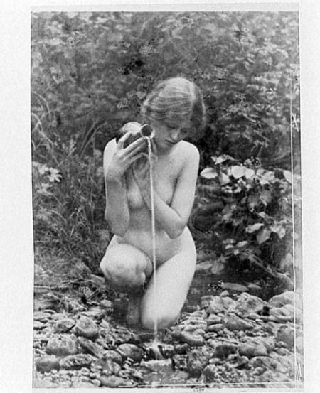 Anne Brigman - la Source - 1907