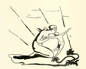 """Gravure tirée des """"Visions des filles d'Albion"""" (1793)"""