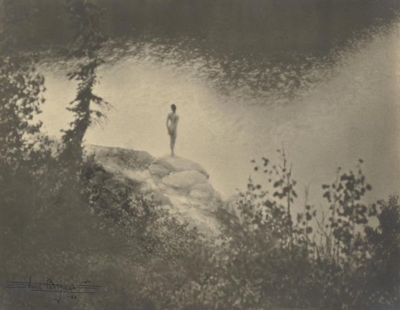 Anne Brigman - Figure in Landscape - 1923 - musée Paul Getty