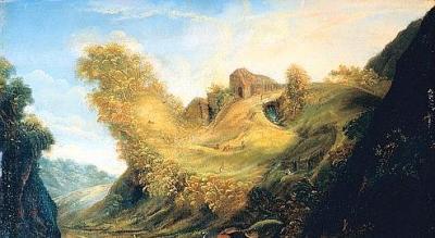 Matthäus Merian , l'Ancien, Paysage anthropomorphe 17°siècle