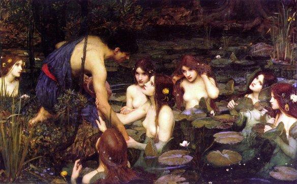 John William Waterhouse - Hylas et les Nymphes - 1896