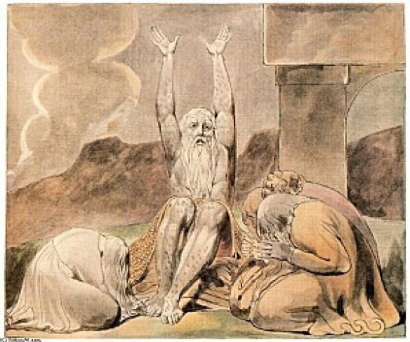 William Blake - Illustration pour le Livre de Job (1825)