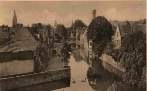 Bruges - quai vert