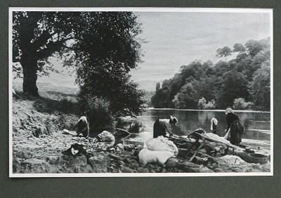 Lavandières à Cambo, 1904 - photographe Louis Labat