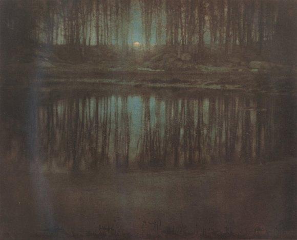 The Pond Moonlight, 1904 - photographe Edward Steichen