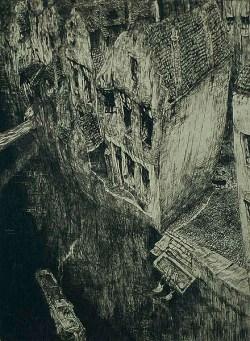 Jules de Bruycker - vieux canal Gand ,1926
