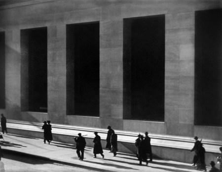 Paul Strand - Wall Street à New-York - 1915