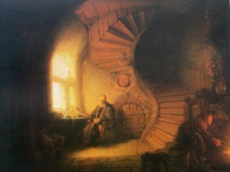Rembrandt - le philosophe