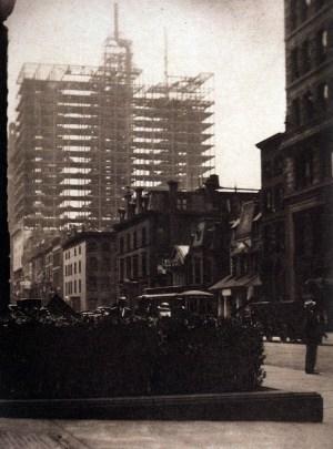 Alfred Stieglitz - New-York Old New, 1910