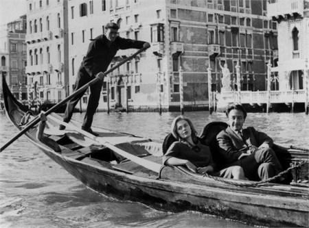Jean Seberg et Romain Gary à Venise