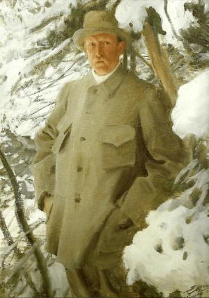 Anders Zorn - Bruno Liljefors, 1906