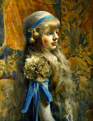 Anders Zorn - Cristina Morphy , 1884