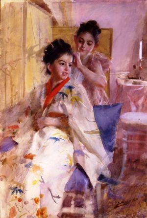 Anders Zorn - Les demoiselles Salomon, 1888