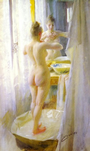 Anders Zorn - Le tub, 1888
