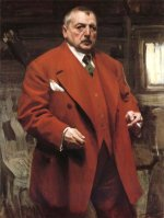 Anders Zorn (1860-1920) - Aotoportrait, 1915