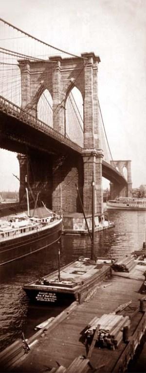 Brooklyn Bridge, New York City, 1896