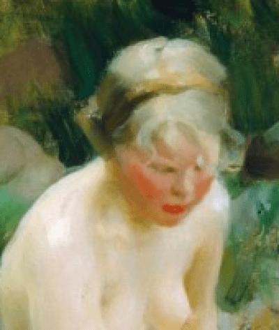 Anders Zorn - Dagmar, 1911 – détail