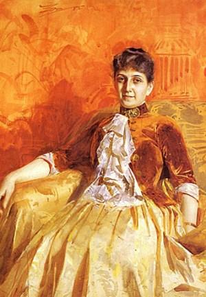 Anders Zorn - Lisen Lamm, 1885