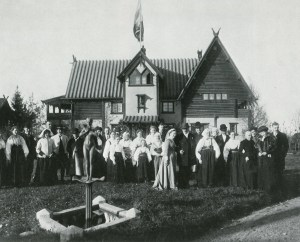 "Emma et Anders au ""Zorngården"", le 16 octobre 1910"