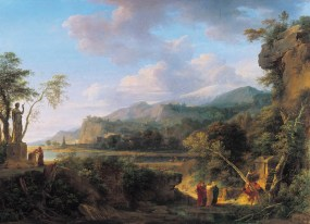 Pierre-Henri de Valenciennes - Cicéron découvrant le tombeau d'Archimède, 1787