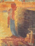 Derkovits Gyula - Boat smith, 1934