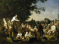 George Caleb Bingham - Stump Speaking, 1853-54