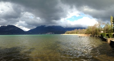 Lac d'Annecy, le Piron - mardi 8 avril 2014, vers 17 h 30 - IMG_2472