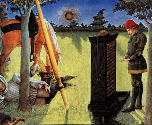 Le Livre du Coeur de l'Amour épris  Texte de René D'Anjou  Enluminures de Barthélémy d'Eyck