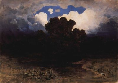 Arkhip Kuindzhi - Surf and Clouds, 1882